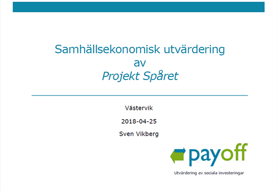 förstasida presentetation Payoff